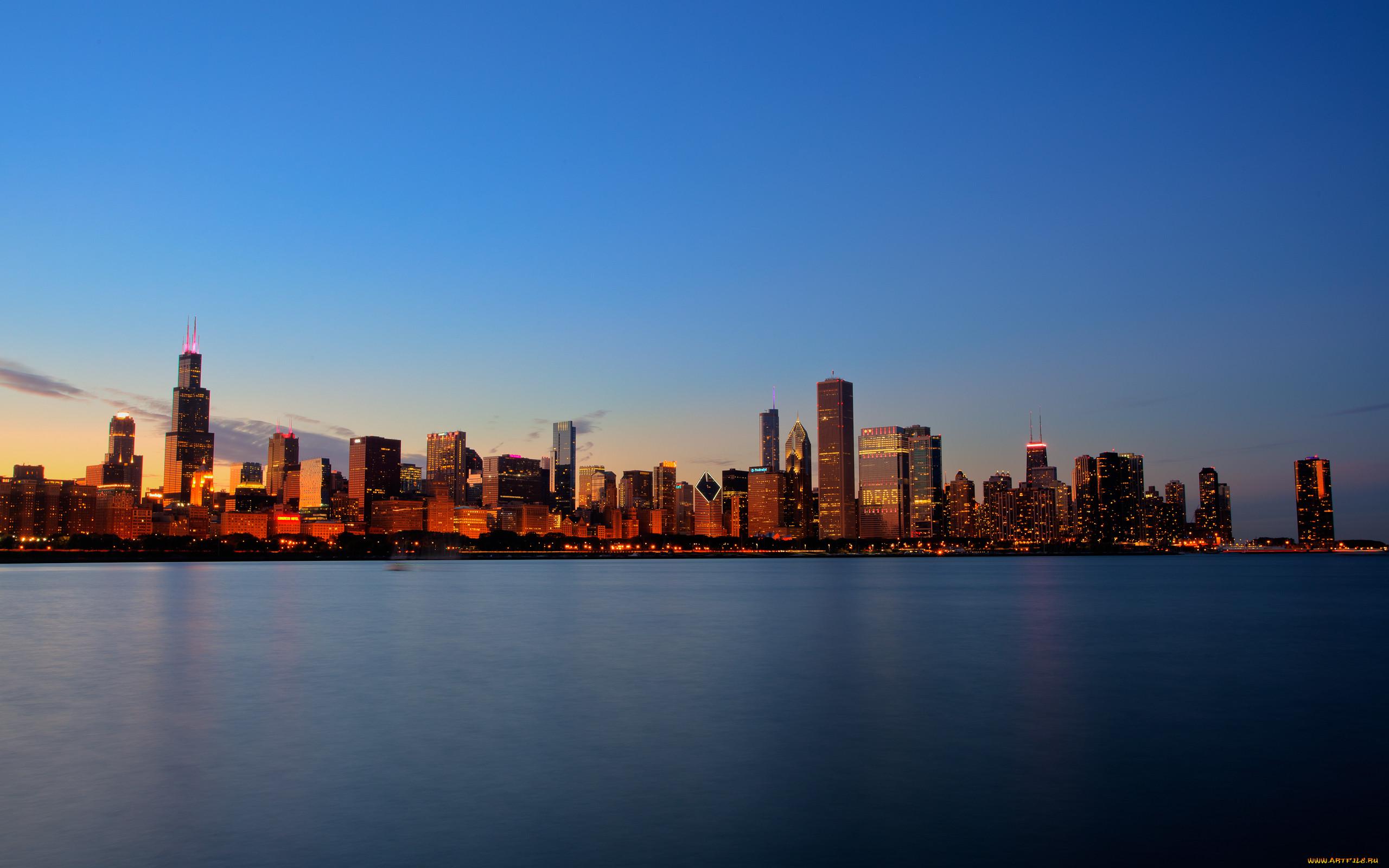 Чикаго фото высокого разрешения